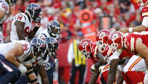NFL Wildcard Weekend – Kansas City Chiefs vs. Houston Texans