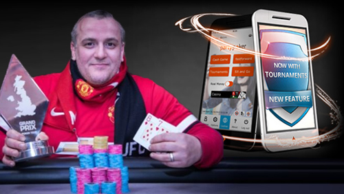 PartyPoker Launch Windows Phone App; Big Freeze MTTs, and Daniel McNairney Wins Grand Prix Old Trafford