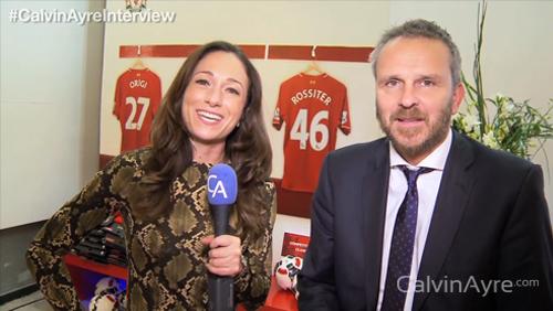 Calvinayre's Rebecca Liggero interviewed Didi Hamann