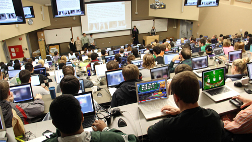 Study: Gambling games bring thrill, focus in classrooms