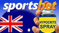 Sportsbet slams online in-play opponents; Australia still #1 in gambling losses