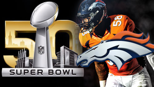 Broncos win Super Bowl 50