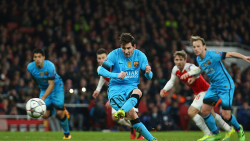 Champions League Round of 16 Update: Messi Inspired Barcelona Cruise Past Arsenal