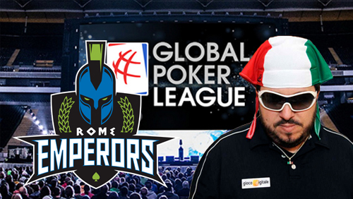 Global Poker League Adds Sixth Player; Rome Emperors Get First Pick
