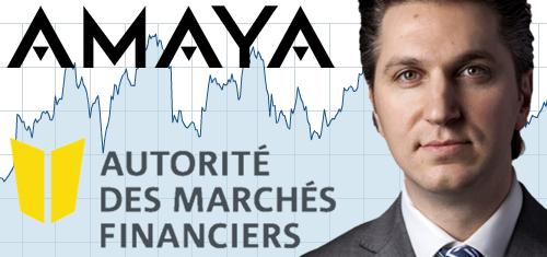 Amaya Insider Trading