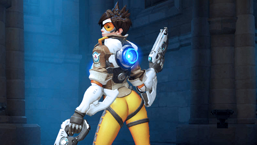 Blizzard Entertainment Backtrack Over Video Game Butt Shot