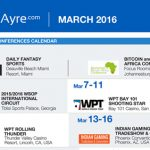 CalvinAyre.com Featured Conferences & Events: March 2016