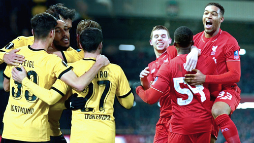 Europa League Review: Liverpool and Dortmund Headline QuarterFinals