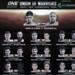 ONE: Union of Warriors Complete with 10 Bouts