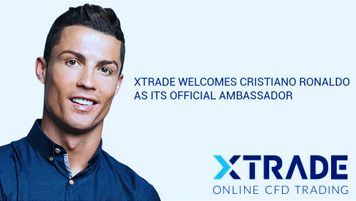 XTrade Announced Cristiano Ronaldo as its Official Ambassador