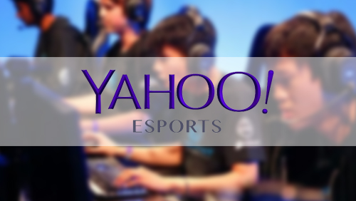 Yahoo gets into competitive gaming, debuts new eSports section