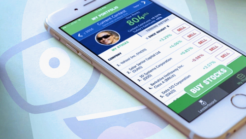 App offers cash prizes for picking virtual stocks