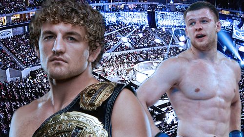 Ben Askren defends ONE Welterweight title against Nikolay Aleksakhin at MOA Arena April 15.