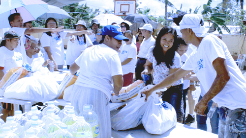 Calvin Ayre Foundation brings cheer to typhoon-battered village in the Philippines