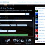 Compare Free Casino launches with enhanced search features