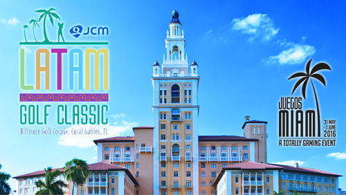 JCM Global Brings LatAm Golf Classic to Juegos Miami on June 3