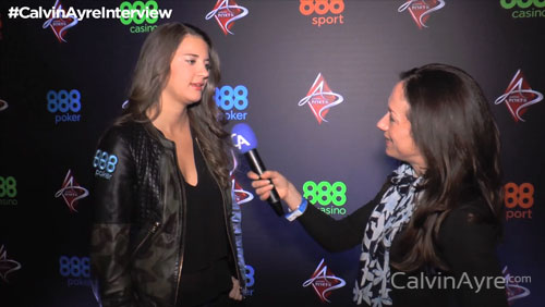 888Poker's Sofia Lovgren talks about being more productive in 2016