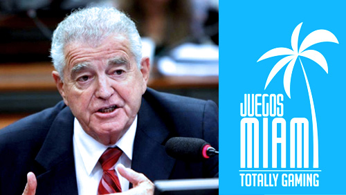 Federal Deputy Nelson Marquezelli to offer the latest on Brazil's gambling bill at Juegos Miami