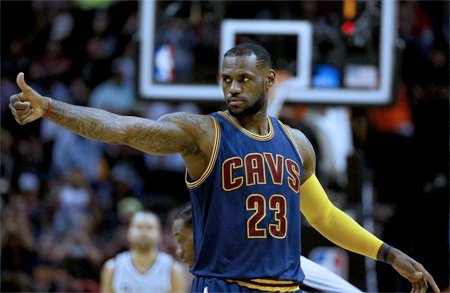 NBA Eastern Conference Finals: Cleveland Cavaliers clinch a trip to NBA Finals