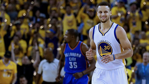NBA Western Conference Finals: Warriors even series against Thunders