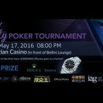 Poker King Club to Host the Macau Charity Poker Tournament with IDN Play