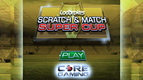 Score a £250,000 prize with the new Scratch and Match series from CORE Gaming and Ladbrokes