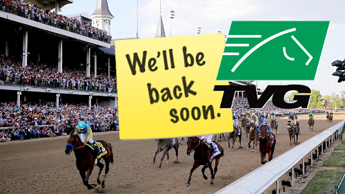 """Human error"" knocked TVG wagering site offline during Kentucky Derby"