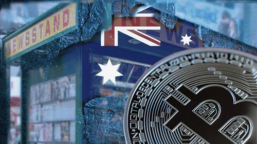 Bitcoin coming to Australian newsstands