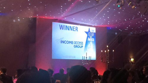 Income Access Wins 'Affiliate Software' Award at 2016 eGR B2B Awards