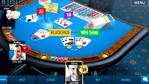 Playing 3D Blackjack at an Online Casino