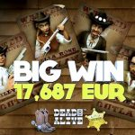 New player makes first deposits and lands a €17,000 win right away!