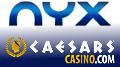 CaesarsCasino re-launch on NYX platform; GAN spanked over NJ geolocation fail