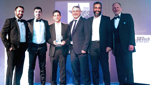 SBTech Awarded for Best In-Play Betting Software of 2016