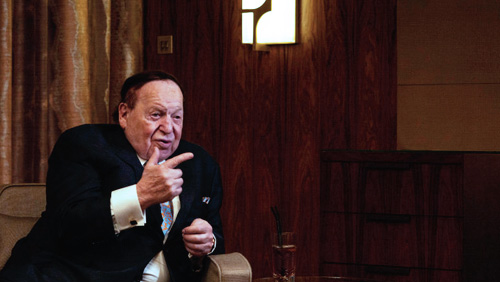 Sheldon Adelson Wants Vegas to Ante up for Raiders Stadium