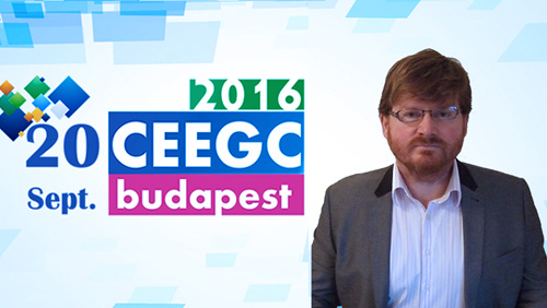 CEEGC 2016 Speaker profile - Mark McGuinness - eSports in Eastern and Central Europe