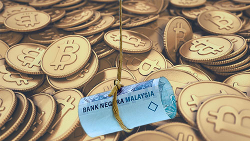 Demand for bitcoin rises in Malaysia as ringgit falls