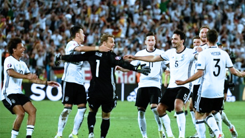 Euro 2016: Germany to Play France in Semis