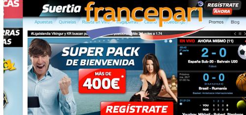 France Pari expands into Spain with Suertia Interactiva acquisition