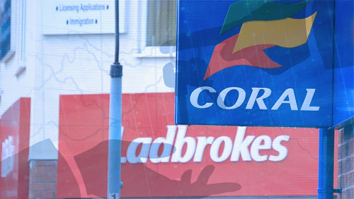 Ladbrokes, Coral to sell up to 400 shops before merger gets all-clear