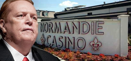 larry flynt buys normandie casino