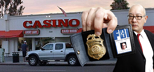 California's Lucky Lady Card Room was front for illegal sports betting operation
