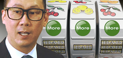 Macau casino regulator wants more slot machine revenue, less VIP baccarat