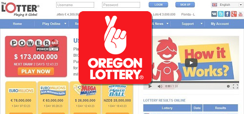 The Lotter pushing Oregon Lottery to expand international online sales