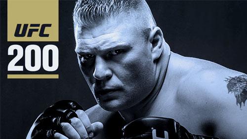Updated UFC 200 odds