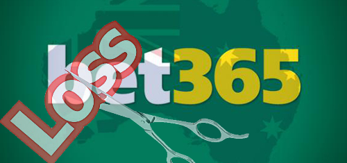 Bet365 Australia cuts losses by two-thirds