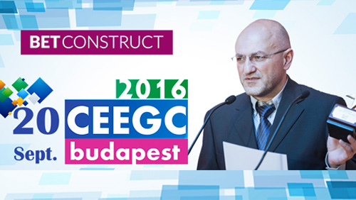 CEEGC 2016 Budapest Speaker profile – Vahe Baloulian, CEO of BetConstruct and an award-winning industry veteran