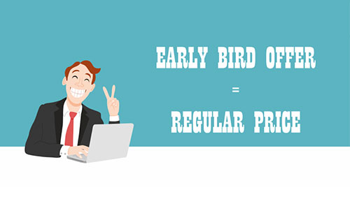 CEEGC 2016 Budapest - Important update - Early Bird Ticket price has become the Regular Ticket price - 200 EUR