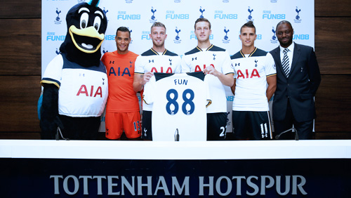 Fun88 Returns as Tottenham Hotspur's Asian and Latin American Betting Partner