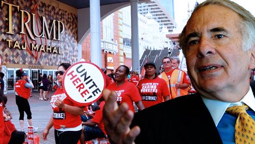 Icahn, labor union play the Taj Mahal closure blame game