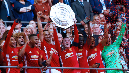 Man Utd Win The Community Shield; Leicester Partner With BetStars